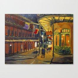 Nola at Night Canvas Print