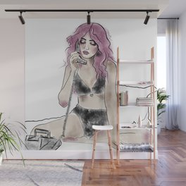 Mulberry Lovers Wall Mural