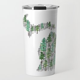 Michigan Forest Travel Mug