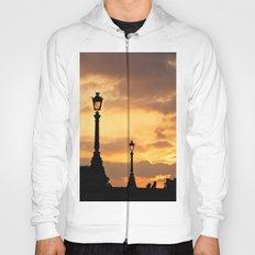 A sunset in Paris Hoody