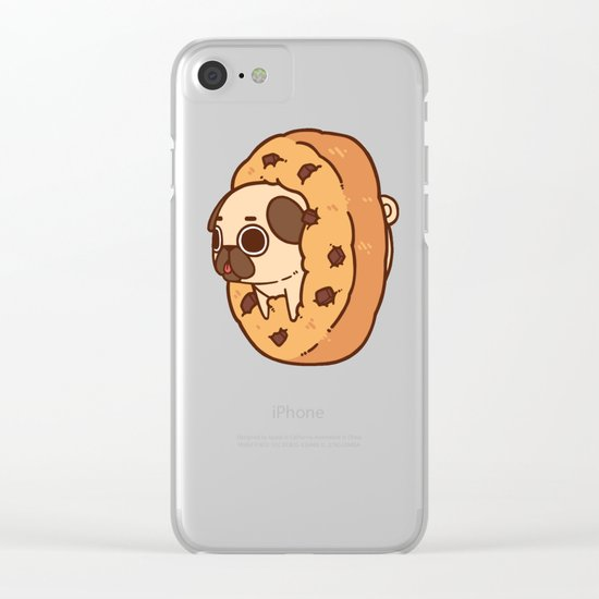 Puglie Cookie Clear iPhone Case