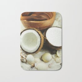 Seashell and coconut Bath Mat
