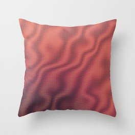 Cup of Joe and the Volcano Throw Pillow