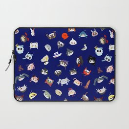 A Mix of the Great Blue Sea Laptop Sleeve