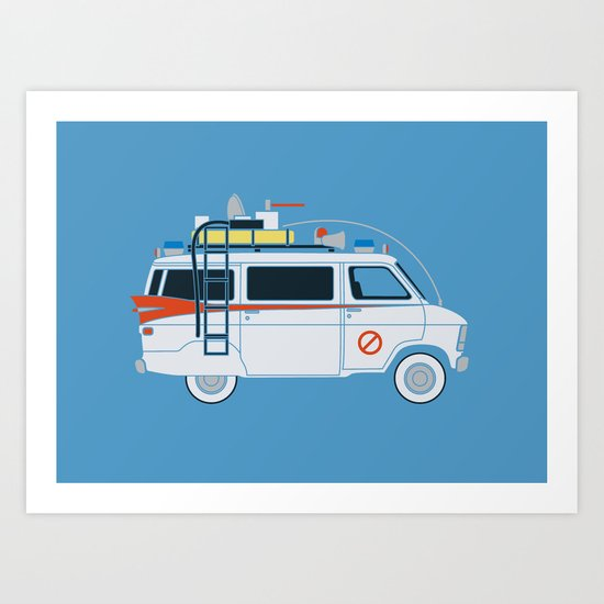 Ecto Van-1 Art Print