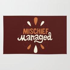 Mischief Managed Rug