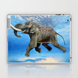 Rajan The Swimming Elephant Laptop & iPad Skin
