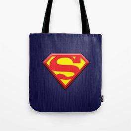 Super Hero Super Man Tote Bag