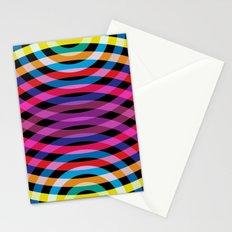 Ripple pattern Stationery Cards
