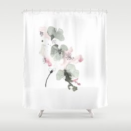 Cherry Blosson Shower Curtain