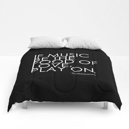 The Food Of Love Comforters