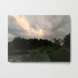 A Break In The Clouds Metal Print