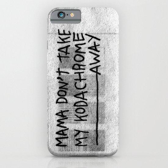 PAUL SIMON iPhone & iPod Case
