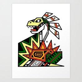 Hail to the Sun Chief Art Print