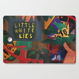 Little White Lies Cutting Board