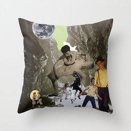 Dancing Cave Throw Pillow
