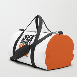 Sex, Drugs & Hardstyle Quote Duffle Bag