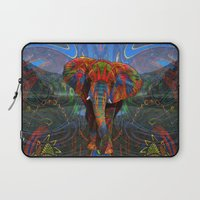 elephant Laptop Sleeves featuring Elephant by Waelad Akadan