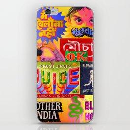 """TASTE OF INDIA"" iPhone Skin"