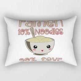 Ramen Love Japanese Noodle Soja Miso Soup Gift Rectangular Pillow