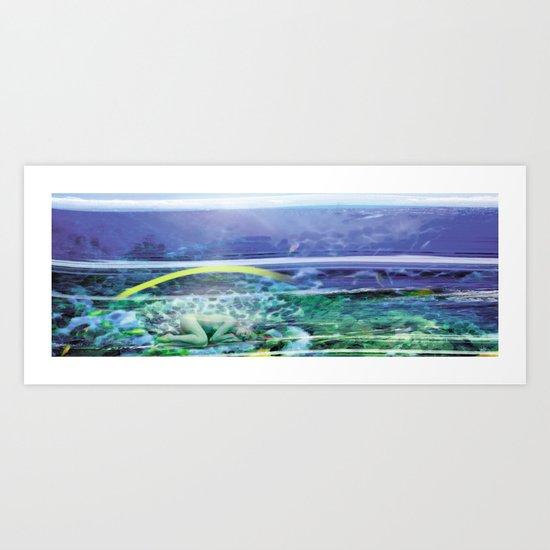 Seabed Art Print
