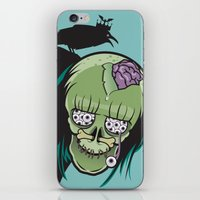 misfits iPhone & iPod Skins featuring 20 Eyes in my Head by Greenfuzz