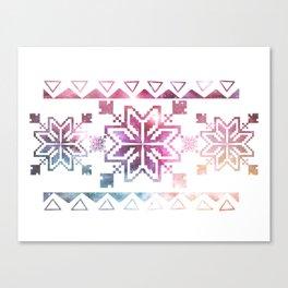 Neo-Ro Pattern Canvas Print