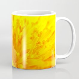 Dandelion Up Close in the Middle Coffee Mug