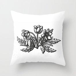 Flowers 3 Throw Pillow