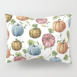 PUMPKINS WATERCOLOR Pillow Sham