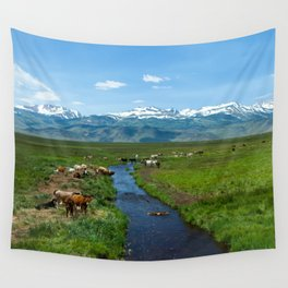 Greenest Pastures In California Wall Tapestry