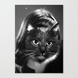 Unknown (Woman) Portrait Canvas Print