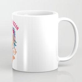Warrior Mermaid - Save The Ocean Coffee Mug