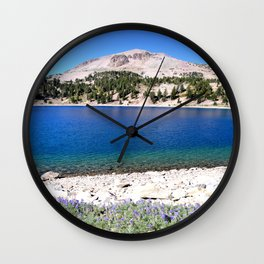 Mountain Lake Helen Wall Clock
