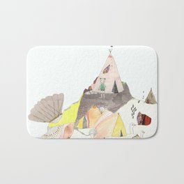 Kids Discover Magic Mountain Bath Mat