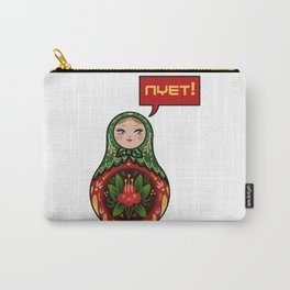 Russian Doll NYET! Carry-All Pouch