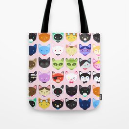 Love character cats Tote Bag