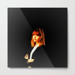Emma Stone - Celebrity Art Metal Print