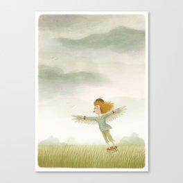 Icarus wannabe Canvas Print