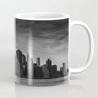 manhattan Mugs featuring Manhattan by Bust it Away Photography