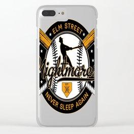 Elm Street Nightmares Clear iPhone Case