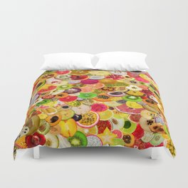 Fruit Madness (All The Fruits) Duvet Cover