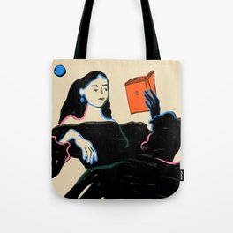 MIDNIGHT READING Tote Bag