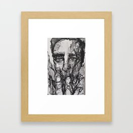 When Smoke Gets in His Eyes Framed Art Print