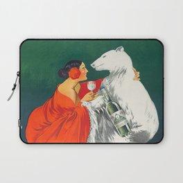 Vintage Italian Liquor Ad Laptop Sleeve