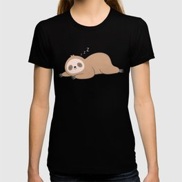 Kawaii Cute Lazy Sloth T-shirt