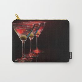 Red hot martinis. Carry-All Pouch