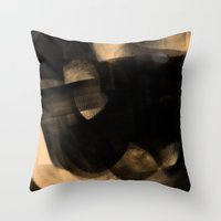 sia Throw Pillows featuring Sia by Patricia Vargas