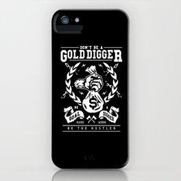 Gold Digger iPhone Case