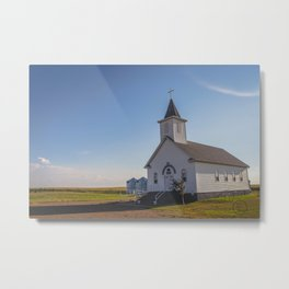 St Paul Lutheran Church 11 Metal Print